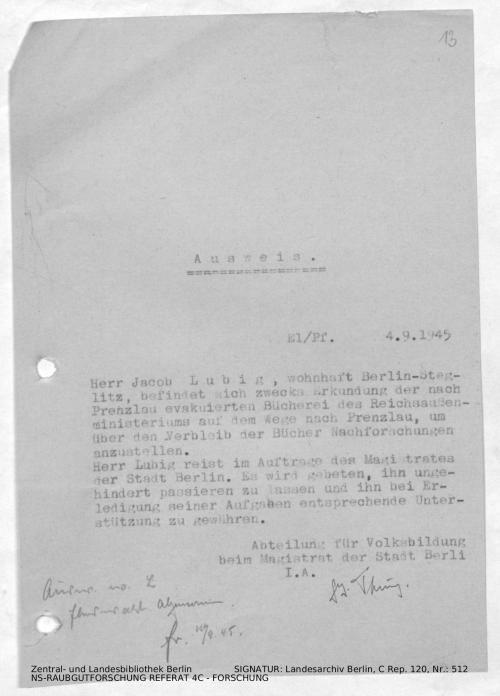 Landesarchiv Berlin, C Rep. 120 Nr. 512, Bl. 13