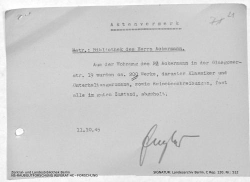 Landesarchiv Berlin, C Rep. 120 Nr. 512, Bl. 21