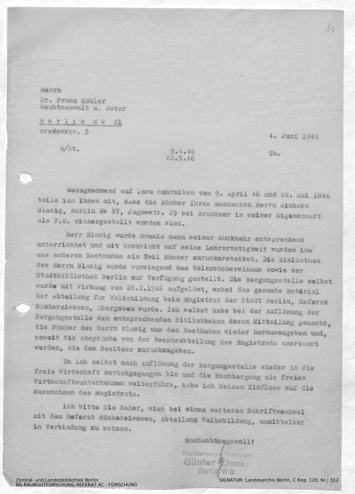 Landesarchiv Berlin, C Rep. 120 Nr. 512, Bl. 61