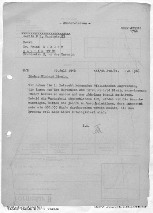 Landesarchiv Berlin, C Rep. 120 Nr. 512, Bl. 63