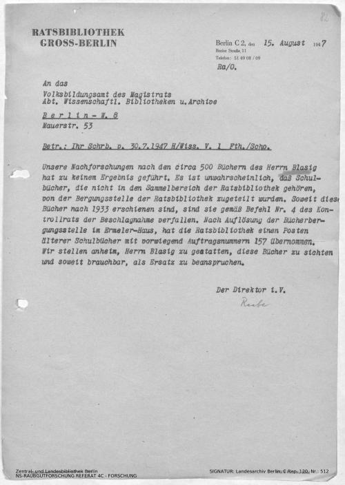 Landesarchiv Berlin, C Rep. 120 Nr. 512, Bl. 82