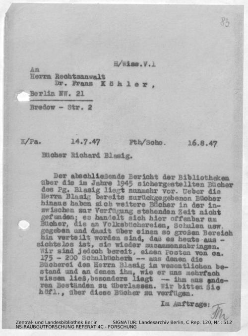 Landesarchiv Berlin, C Rep. 120 Nr. 512, Bl. 83