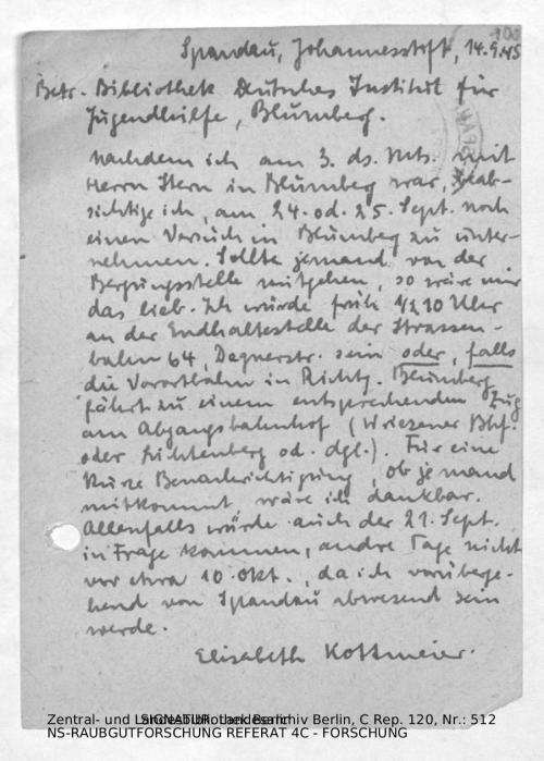 Landesarchiv Berlin, C Rep. 120 Nr. 512, Bl. 100