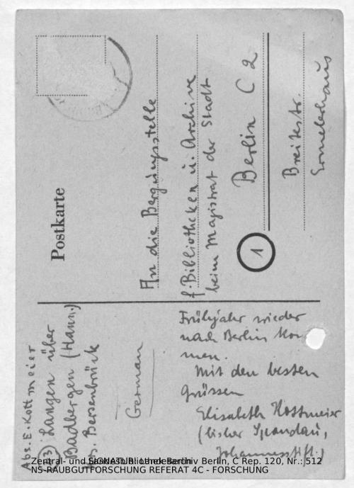 Landesarchiv Berlin, C Rep. 120 Nr. 512, Bl. 101