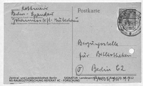 Landesarchiv Berlin, C Rep. 120 Nr. 512, Bl. 99