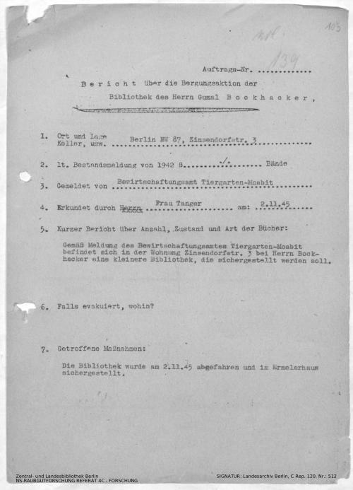 Landesarchiv Berlin, C Rep. 120 Nr. 512, Bl. 103
