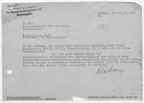 Landesarchiv Berlin, C Rep. 120 Nr. 512, Bl. 105