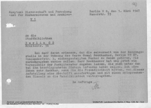 Landesarchiv Berlin, C Rep. 120 Nr. 512, Bl. 119