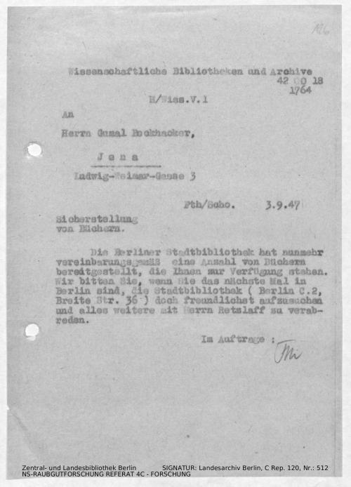Landesarchiv Berlin, C Rep. 120 Nr. 512, Bl. 126