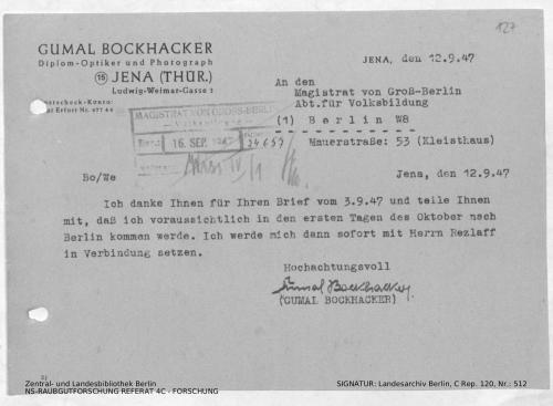 Landesarchiv Berlin, C Rep. 120 Nr. 512, Bl. 127