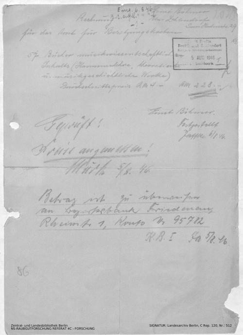 Landesarchiv Berlin, C Rep. 120 Nr. 512, Bl. 133