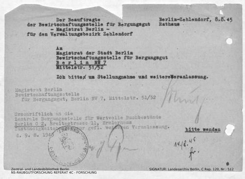 Landesarchiv Berlin, C Rep. 120 Nr. 512, Bl. 135
