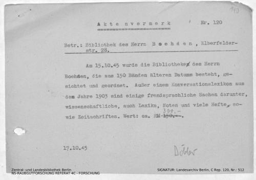 Landesarchiv Berlin, C Rep. 120 Nr. 512, Bl. 140