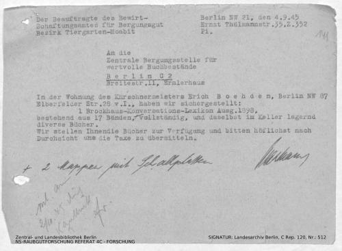Landesarchiv Berlin, C Rep. 120 Nr. 512, Bl. 141