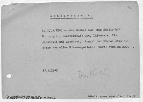 Landesarchiv Berlin, C Rep. 120 Nr. 512, Bl. 146
