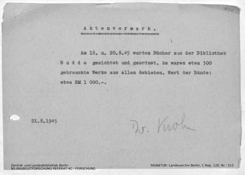 Landesarchiv Berlin, C Rep. 120 Nr. 512, Bl. 150
