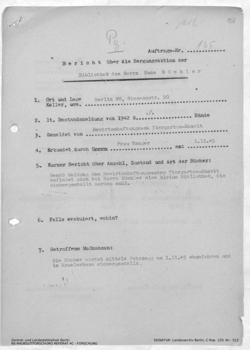 Landesarchiv Berlin, C Rep. 120 Nr. 512, Bl. 151