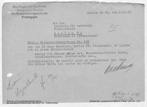 Landesarchiv Berlin, C Rep. 120 Nr. 512, Bl. 153