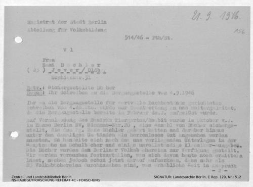Landesarchiv Berlin, C Rep. 120 Nr. 512, Bl. 156