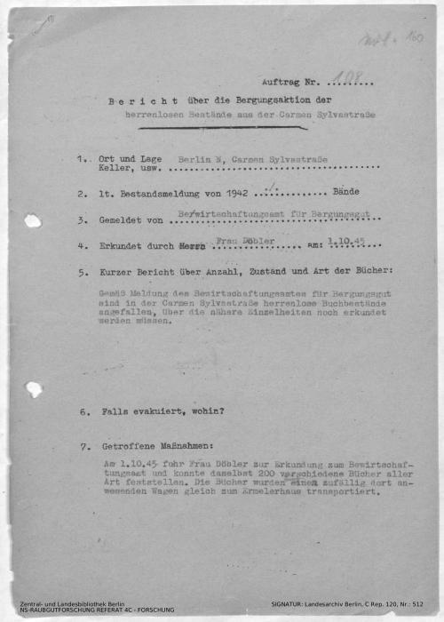 Landesarchiv Berlin, C Rep. 120 Nr. 512, Bl. 160