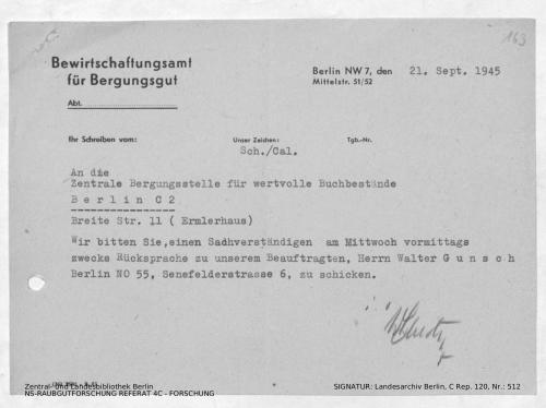 Landesarchiv Berlin, C Rep. 120 Nr. 512, Bl. 163
