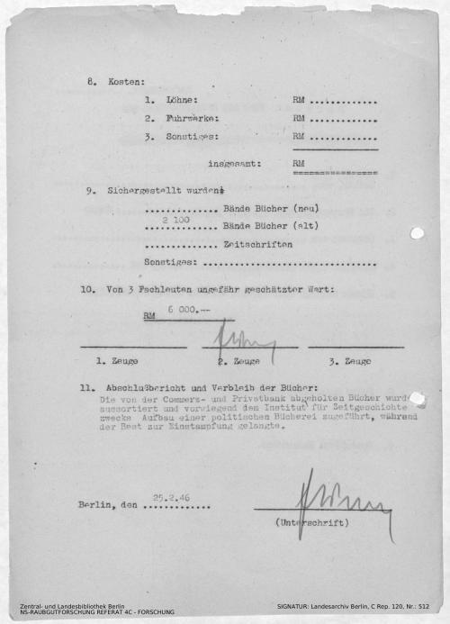 Landesarchiv Berlin, C Rep. 120 Nr. 512, Bl. 164