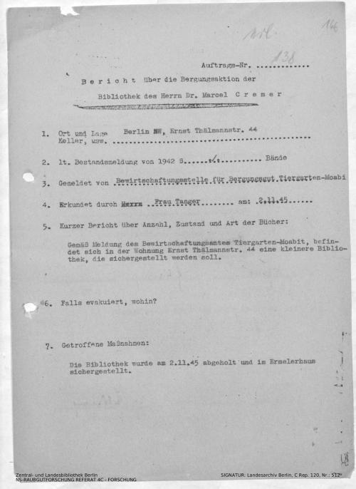 Landesarchiv Berlin, C Rep. 120 Nr. 512, Bl. 166