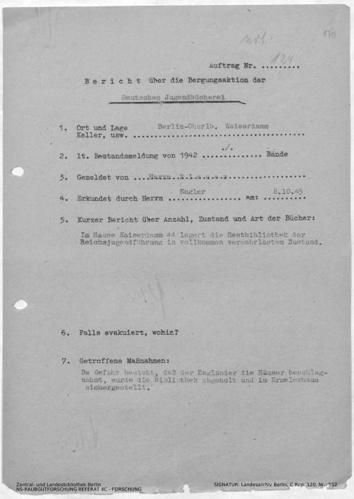 Landesarchiv Berlin, C Rep. 120 Nr. 512, Bl. 170