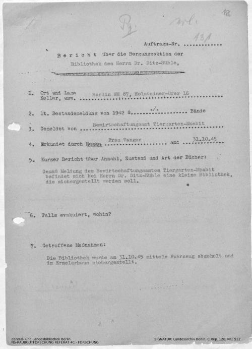 Landesarchiv Berlin, C Rep. 120 Nr. 512, Bl. 186