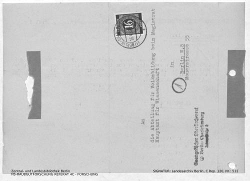 Landesarchiv Berlin, C Rep. 120 Nr. 512, Bl. 190