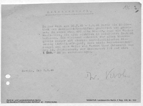 Landesarchiv Berlin, C Rep. 120 Nr. 512, Bl. 196