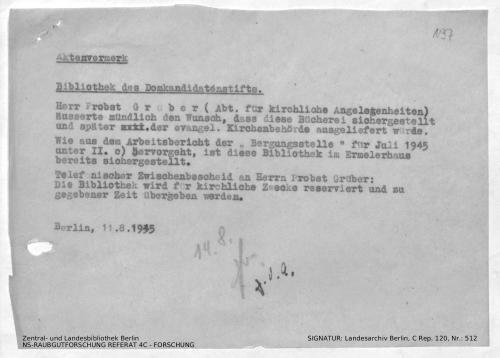 Landesarchiv Berlin, C Rep. 120 Nr. 512, Bl. 197