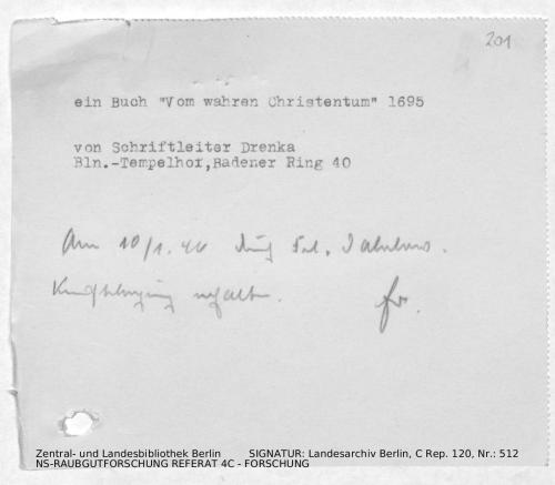 Landesarchiv Berlin, C Rep. 120 Nr. 512, Bl. 201