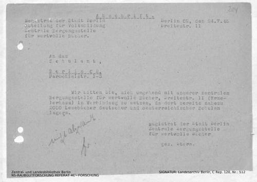 Landesarchiv Berlin, C Rep. 120 Nr. 512, Bl. 224