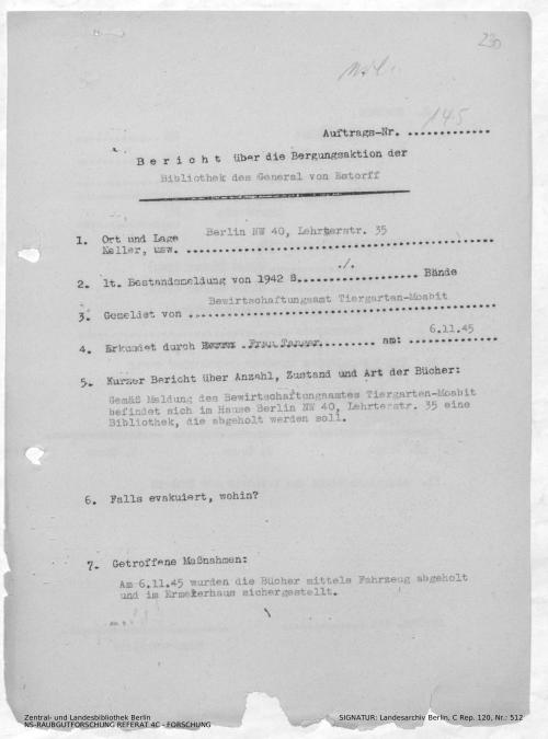Landesarchiv Berlin, C Rep. 120 Nr. 512, Bl. 230