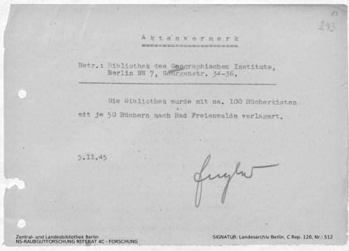 Landesarchiv Berlin, C Rep. 120 Nr. 512, Bl. 243