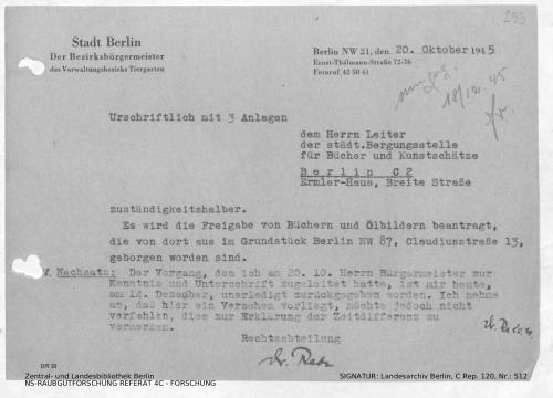 Landesarchiv Berlin, C Rep. 120 Nr. 512, Bl. 293