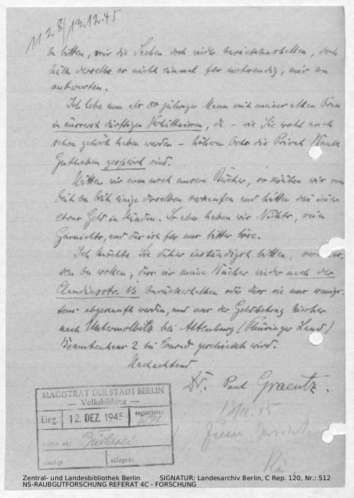 Landesarchiv Berlin, C Rep. 120 Nr. 512, Bl. 254