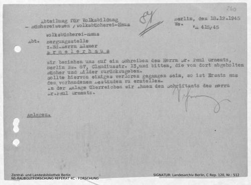 Landesarchiv Berlin, C Rep. 120 Nr. 512, Bl. 260