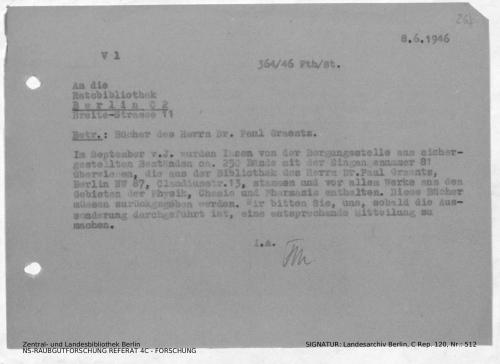 Landesarchiv Berlin, C Rep. 120 Nr. 512, Bl. 268