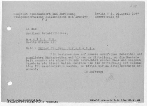 Landesarchiv Berlin, C Rep. 120 Nr. 512, Bl. 278