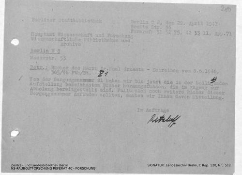 Landesarchiv Berlin, C Rep. 120 Nr. 512, Bl. 280