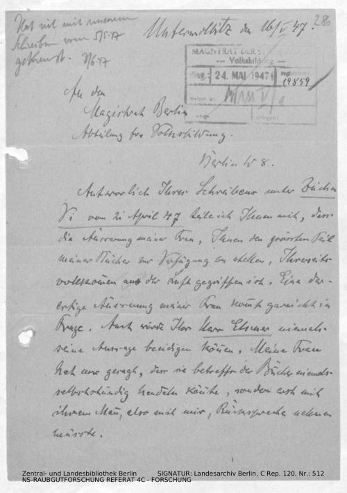 Landesarchiv Berlin, C Rep. 120 Nr. 512, Bl. 286