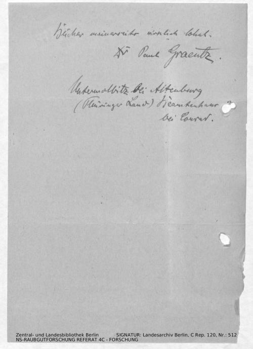 Landesarchiv Berlin, C Rep. 120 Nr. 512, Bl. 287