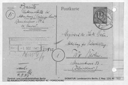 Landesarchiv Berlin, C Rep. 120 Nr. 512, Bl. 290
