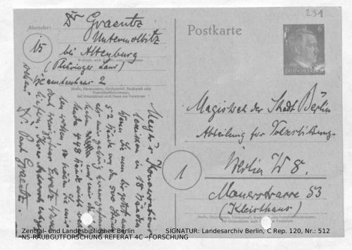 Landesarchiv Berlin, C Rep. 120 Nr. 512, Bl. 291