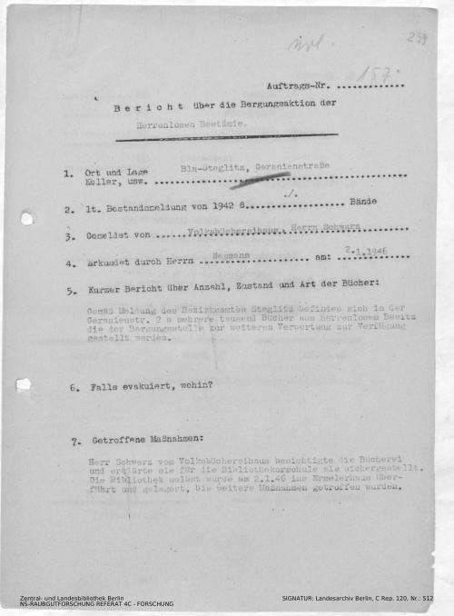 Landesarchiv Berlin, C Rep. 120 Nr. 512, Bl. 299