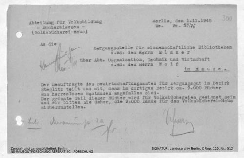 Landesarchiv Berlin, C Rep. 120 Nr. 512, Bl. 300