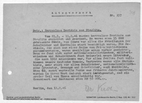 Landesarchiv Berlin, C Rep. 120 Nr. 512, Bl. 301