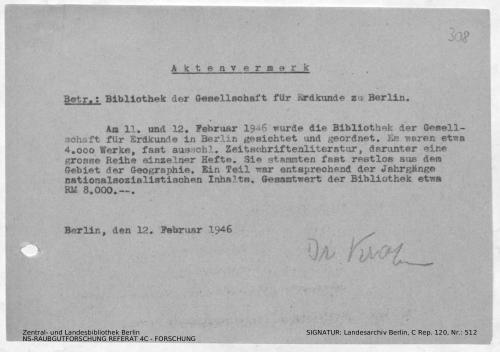 Landesarchiv Berlin, C Rep. 120 Nr. 512, Bl. 308